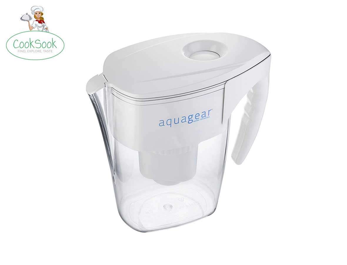 Aquagear 8-Cup Water Filter Pitcher