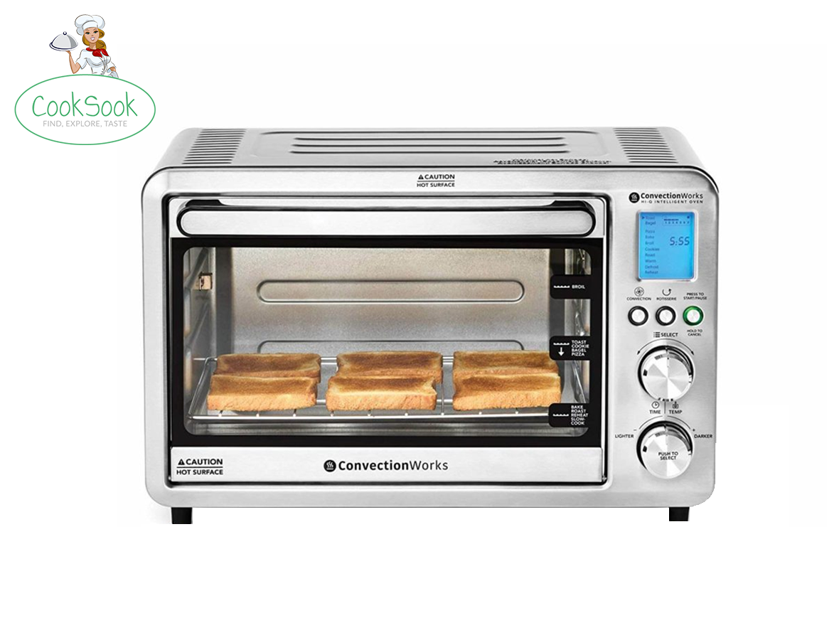 Convection Works Hi-Q Intelligent,6-Slice Compact Convection Toaster