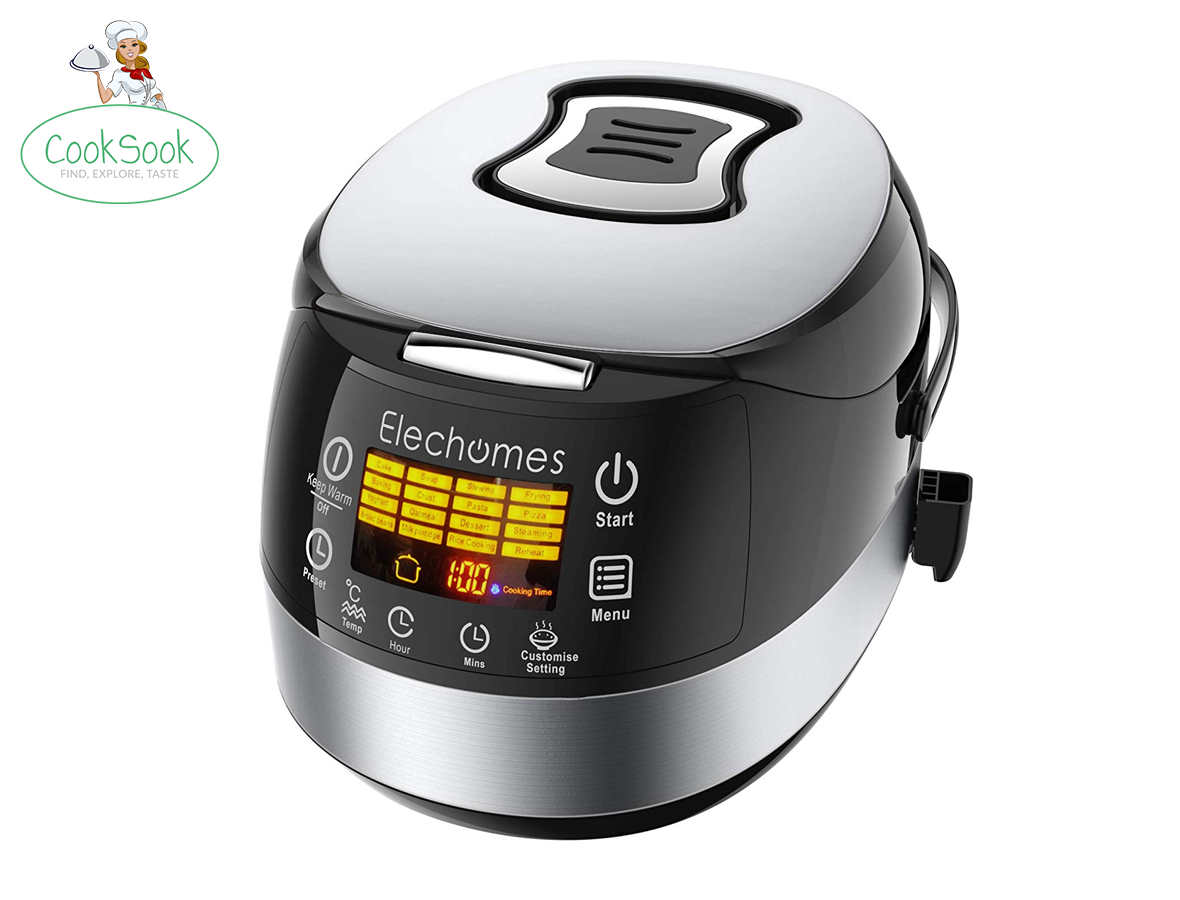 Elechomes 16-In-1 Multifunction 10 cups Rice Cooker