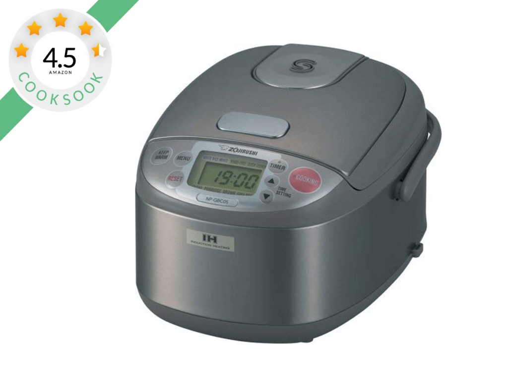 Zojirushi NP-GBC05 Rice Cooker and Warmer with Induction Heating System