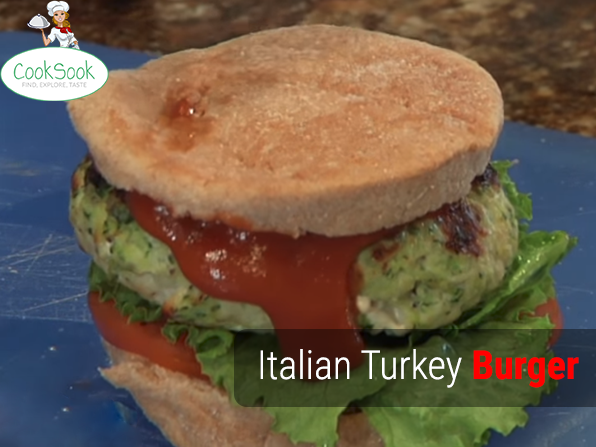 Italian Turkey Burger Recipe