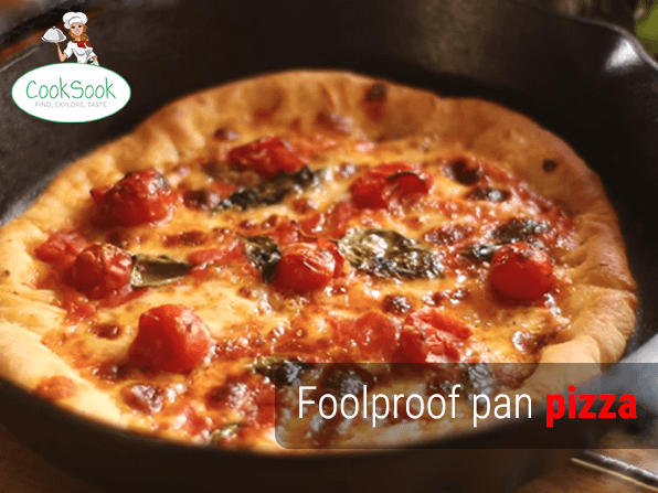 Foolproof Pan Pizza Recipe