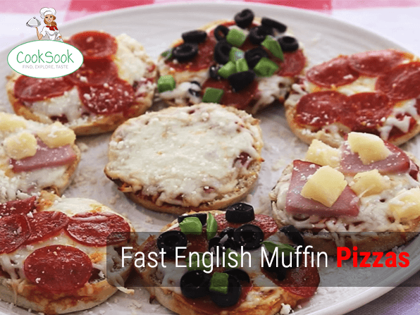 English-Muffin-Pizzas