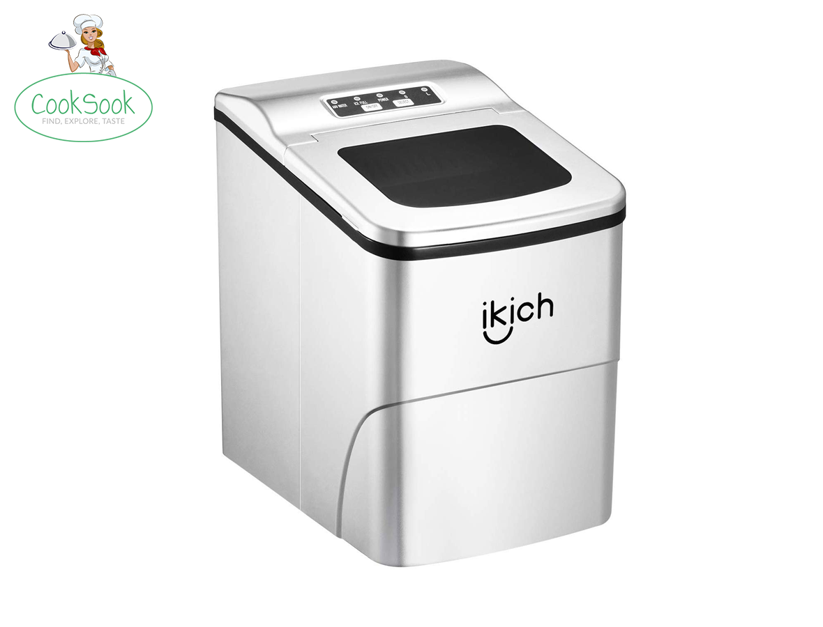 IKICH Portable Ice Maker Machine for Countertop,