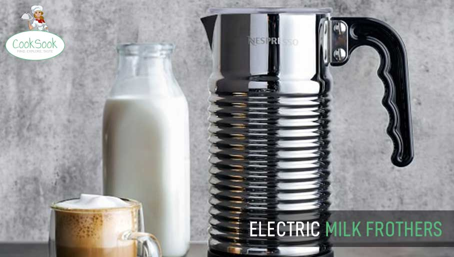 Top electric milk frothers