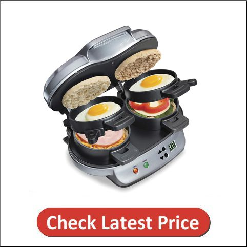 Hamilton Beach Dual Omelette Maker with Timer