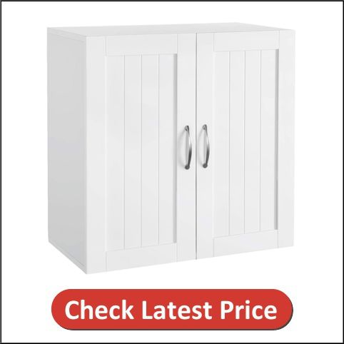 Topeakmart Home Wall Mount Hanging Kitchen Cabinet